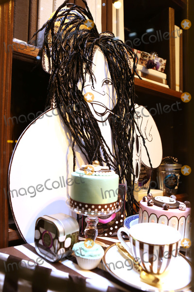 Al Hirschfeld Photo - Hirschfeld Three dimensional drawing of Whoopi Goldberg photographed in New York City on November 19 2013Al Hirschfeld whose legendary quill pen captured virtually every well-known performing artist of the 20th century will be celebrated by Henri Bendel The Hirschfeld Spectacular will be on display throughout the Henri Bendel flagship store until January 2 2014 Credit McBrideface to face
