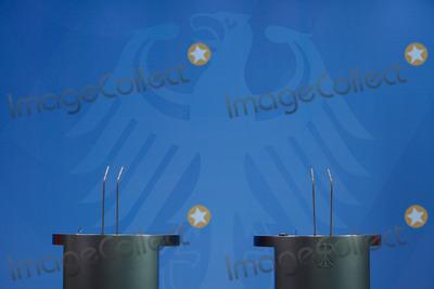 Angela Merkel Photo - Bundeskanzlerin Merkel empfing die Ministerpraesidentin von Norwegen Erna Solberg mit militaerischen Ehren am 20 November 2013 im Bundeskanzleramt Berlin Anschliessend sprachen beide auf der gemeinsamen Pressekonferenz im Foyer des Bundeskanzleramtes German Chancellor Angela Merkel welcomed the Minister President of Norway Erna Solberg with military honors at the 20th November 2013 at the Federal Chancellery in Berlin Subsequently both spoke at a joint press conference in the foyer of the Federal ChancelleryCredit Stockiface to face