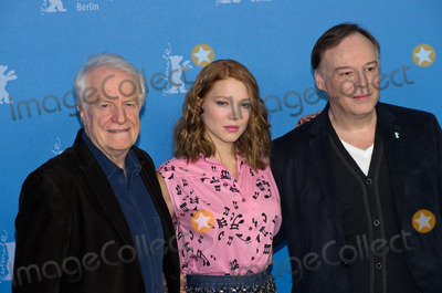 Andre Dussollier Photo - Andre Dussollier Lea Seydoux director Christophe Gansattends Photocall and Press Conference BEAUTY AND THE BEAST Berlinale 14022014Credit Ralleface to face