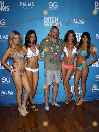 Chuck Liddell Photo - 05 July 2012 - Las Vegas Nevada - Chrissy Blair Vanessa Hanson Chuck Liddell Rachelle Leah Kenda Perez Chuck Liddell Arianny Celeste and UFC Octagon Girls host official UFC Fight Week Pool Party at Palms Pool  BungalowsPhoto Credit MJTAdMedia