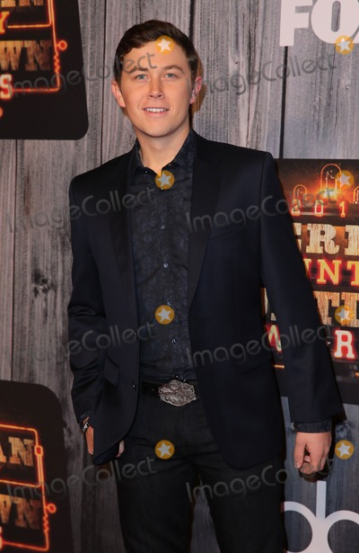 Scotty McCreery Photo - 15 December 2014 - Nashville TN -  Scotty McCreery  2014 American Country Countdown Awards Arrivals at the Music City Center  Photo Credit MJTAdMedia
