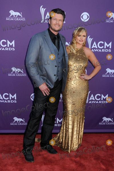 Miranda Lambert Photo - 1 April 2012 - Las Vegas Nevada - Blake Shelton Miranda Lambert 47th Annual Academy of Country Music Awards held at the MGM Grand Photo Credit Byron PurvisAdMedia
