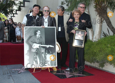 Maria Elena Holly Photo - 07 September 2011 - Hollywood California - Peter Asher Phil Everly Maria Elena Holly and Gary Busey Buddy Holly posthumous STAR Induction into The Hollywood Walk of Fame on his 75th Birthday held in front of the Capital Records Building on Vine Street Photo Credit Russ ElliotAdMedia