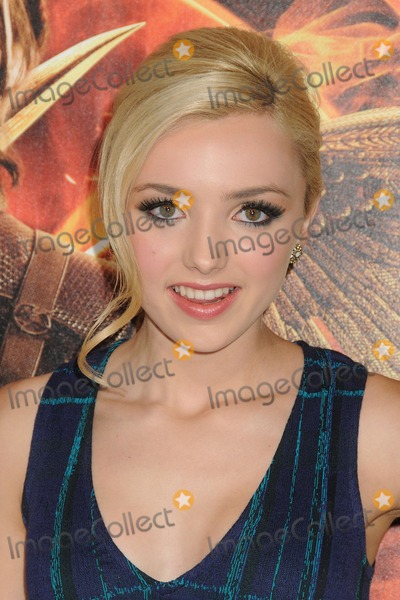 Peyton List Photo - 17 November 2014 - Los Angeles California - Peyton List The Hunger Games Mockingjay - Part 1 Los Angeles Premiere held at Nokia Theatre LA Live Photo Credit Byron PurvisAdMedia