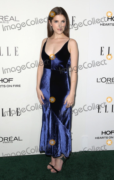 Anna Kendrick Photo - 24 October 2016 - Beverly Hills California - Anna Kendrick 23rd Annual ELLE Women In Hollywood Awards held at the Four Seasons Hotel Beverly Hills Photo Credit F SadouAdMedia