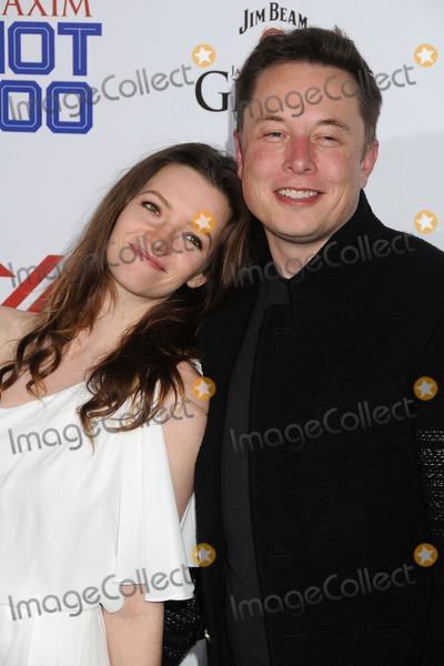 ELON MUSK Photo - 15 May 2013 - Hollywood California - Talulah Riley Elon Musk Maxim Hot 100 Party 2013 held at Vanguard Photo Credit Byron PurvisAdMedia