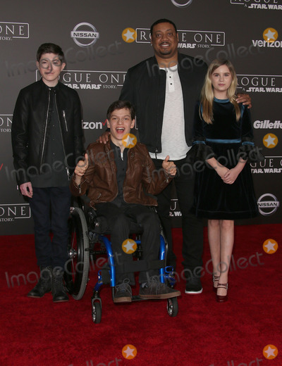 Kyla Kenedy Photo - 10 December 2016 - Hollywood California - Mason Cook Micah Fowler Kyla Kenedy Cedric Yarbrough Rogue One A Star Wars Story World Premiere held at Pantages Theater Photo Credit F SadouAdMedia