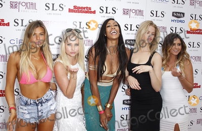 Anastasia Ashley Photo - 02 May 2015 - Las Vegas Nevada - Samantha Hoopes Genevieve Morton Kim Glass Hailey Clauson Anastasia Ashley Official Sports Illustrated Fight Weekend Party at Foxtail Pool Club at SLS Las Vegas Photo Credit MJTAdMedia