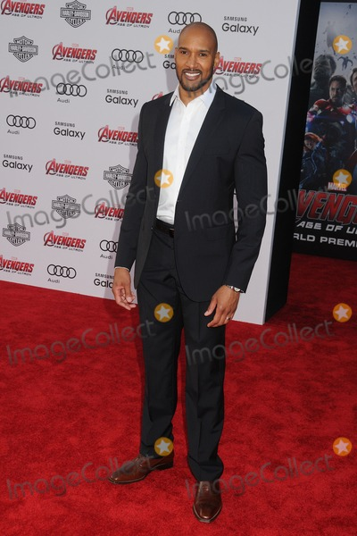 Henri Simmons Photo - 13 April 2015 - Hollywood California - Henry Simmons Avengers Age Of Ultron Los Angeles Premiere held at The Dolby Theatre Photo Credit Byron PurvisAdMedia