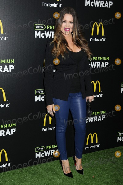 Khloe  Kardashian Photo - 28 March 2013 - Los Angeles California - Khloe Kardashian McDonalds Premium McWrap Launch Party held at Paramount Studios Photo Credit Byron PurvisAdMedia