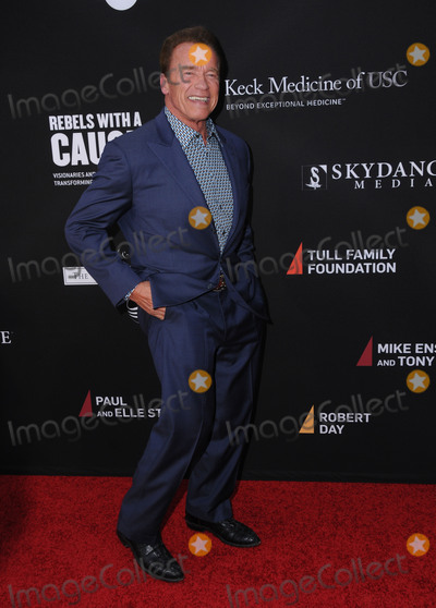 Arnold Schwartzenegger Photo - 11 May 2016 - Santa Monica California - Arnold Schwartzenegger Arrivals for Rebels With A Cause Gala held at The Barker Hangar Photo Credit Birdie ThompsonAdMedia