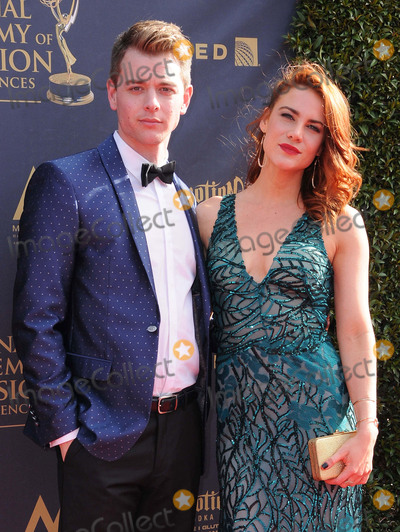 Chad Duell Photo - 28 April 2017 - Pasadena California - Chad Duell Courtney Hope 44th Annual Daytime Creative Arts Emmy Awards held at Pasadena Civic Center in Pasadena Photo Credit Birdie ThompsonAdMedia