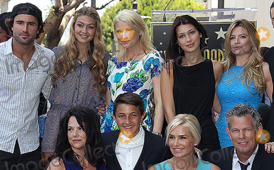 Yolanda Hadid Photo - 31 May 2013 - Hollywood California - Stevie Wonder Brody Jenner Gigi Hadid (top left)Yolanda Hadid David Foster is honored with a star on the Hollywood Walk of Fame Photo Credit Russ ElliotAdMedia