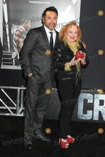 Carol Connors Photo - 19 November 2015 - Westwood California - Oscar De La Hoya Carol Connors Creed Los Angeles Premiere held at the Regency Village Theatre Photo Credit Byron PurvisAdMedia