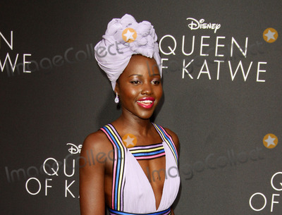 Lupita Nyongo Photo - 20 September 2016 - Hollywood California - Lupita Nyongo Queen Of Katwe Los Angeles Premiere held at the El Capitan Theater in Hollywood Photo Credit AdMedia