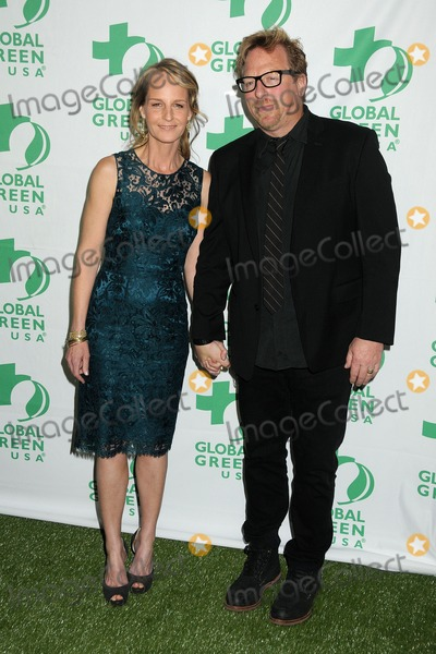 Matthew Carnahan Photo - 20 February 2013 - Hollywood California - Helen Hunt Matthew Carnahan 10th Annual Global Green USA Pre-Oscar Party held at Avalon Photo Credit Byron PurvisAdMedia