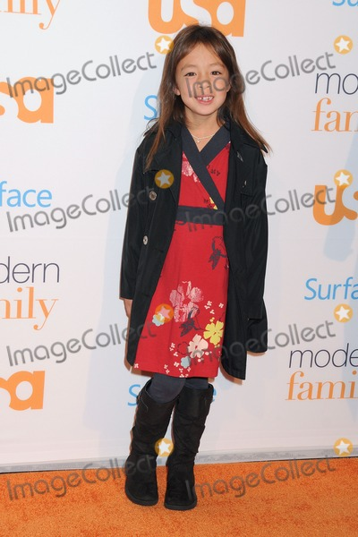 Aubrey AndersonEmmons Photo - 28 October 2013 - Westwood California - Aubrey AndersonEmmons USA Network Hosts Modern Family Fan Appreciation Day held at the Westwood Village Theatre Photo Credit Byron PurvisAdMedia