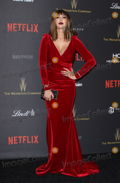Jackie Cruz Photo - 10 January 2016 - Los Angeles California - Jackie Cruz 2016 Weinstein Company  Netflix Golden Gloves After Party held at the Beverly Hilton Hotel Photo Credit AdMedia