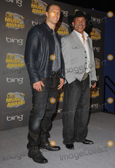 Clay Matthews Photo - 08 June 2011 - Nashville Tennessee - Clay Matthews and Hines Ward 2011 CMT Music Awards held at Bridgestone Arena Photo Credit George ShepherdAdMedia
