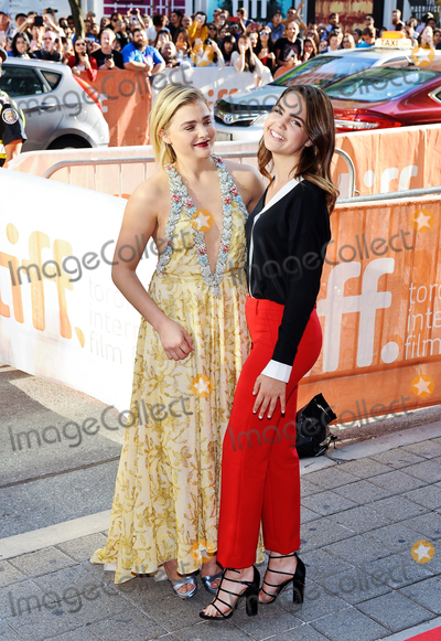 Bailee Madison Photo - 16 September 2016 - Toronto Ontario Canada - Chloe Grace Moretz and Bailee Madison Brain On Fire Premiere during the 2016 Toronto International Film Festival held at Princess of Wales Theatre Photo Credit Brent PerniacAdMedia