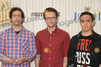 Akiva Schaffer Photo - 8 June 2013 - Culver City California - Andy Samberg Akiva Schaffer Jorma Taccone The Lonely Island 2013 Spike TV Guys Choice Awards held at Sony Pictures Studios Photo Credit Byron PurvisAdMedia