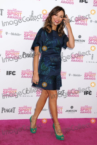 Rashida Jones Photo - 23 February 2013 - Santa Monica California - Rashida Jones 2013 Film Independent Spirit Awards - Arrivals held at Santa Monica Beach Photo Credit Byron PurvisAdMedia