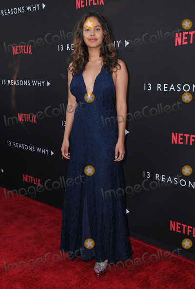 Alisha Boe Photo - 30 March 2017 - Los Angeles California - Alisha Boe  Premiere Of Netflixs 13 Reasons Why held at Paramount Studios in Los Angeles Photo Credit Birdie ThompsonAdMedia