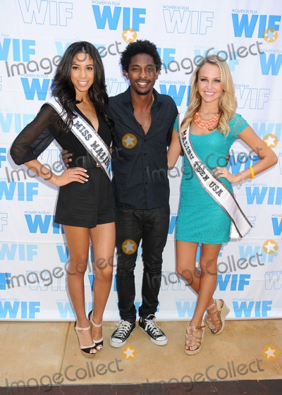 Aaron Smith Photo - 13 July 2013 - Malibu California - Brittany McGowan Miss Malibu USA 2013 Aaron Smith Shwayze Chloe Hope Hatfield Miss Malibu Teen USA 2013 16th Annual Women In Film Malibu Golf Classic held at the Malibu Golf Club Photo Credit Byron PurvisAdMedia