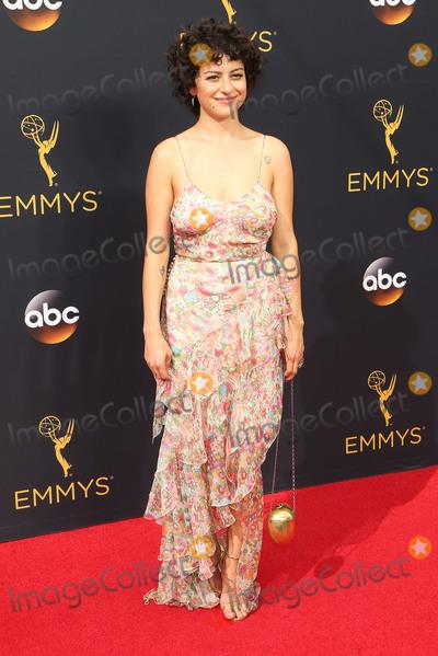 Alias Photo - 18 September 2016 - Los Angeles California - Alia Shawkat 68th Annual Primetime Emmy Awards held at Microsoft Theater Photo Credit AdMedia