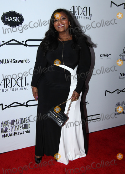 Ashunta Sheriff Photo - 19 February 2017 - Los Angeles California - Ashunta Sheriff2017 Make-Up Artist  Hair Stylists Guild (MUAHS) Awards held at The Novo Photo Credit AdMedia
