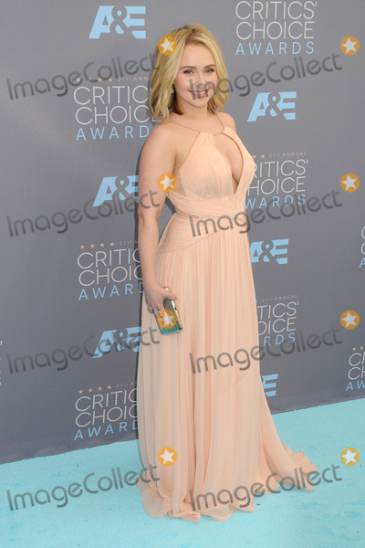 Hayden Panettiere Photo - 17 January 2016 - Santa Monica California - Hayden Panettiere 21st Annual Critics Choice Awards - Arrivals held at Barker Hangar Photo Credit Byron PurvisAdMedia