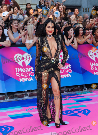 Nikki Bella Photo - 18 June 2017 - Toronto Ontario Canada  Nikki Bella arrives on the pink carpet at the 2017 iHeartRadio MuchMusic Video Awards at MuchMusic HQ Photo Credit Brent PerniacAdMedia