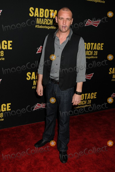 Alan ONeill Photo - 19 March 2014 - Los Angeles California - Alan ONeill Sabotage Los Angeles Premiere held at Regal Cinemas LA Live Photo Credit Byron PurvisAdMedia