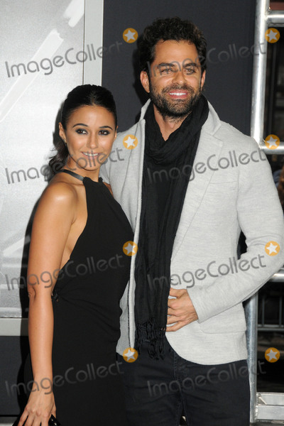 Adrian Bellani Photo - 19 November 2015 - Westwood California - Emmanuelle Chriqui Adrian Bellani Creed Los Angeles Premiere held at the Regency Village Theatre Photo Credit Byron PurvisAdMedia