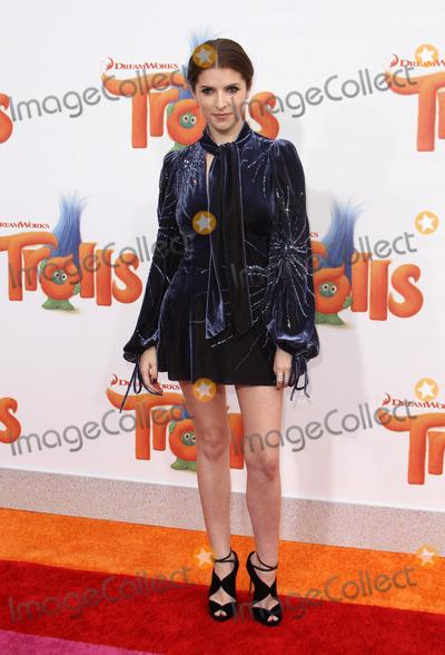 Anna Kendrick Photo - 23 October 2016 - Los Angeles California - Anna Kendrick Trolls Los Angeles Premiere held at the Regency Village Theatre in Los Angeles Photo Credit AdMedia