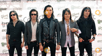 Ashley Purdy Photo - 22 July 2015 - Cleveland Ohio - Jinx Jake Pitts Andy Biersack Ashley Purdy and Christian CC Coma of the band Black Veil Brides attend the 2015 Alternative Press Music Awards at Quicken Loans Arena Photo Credit Jason L NelsonAdMedia