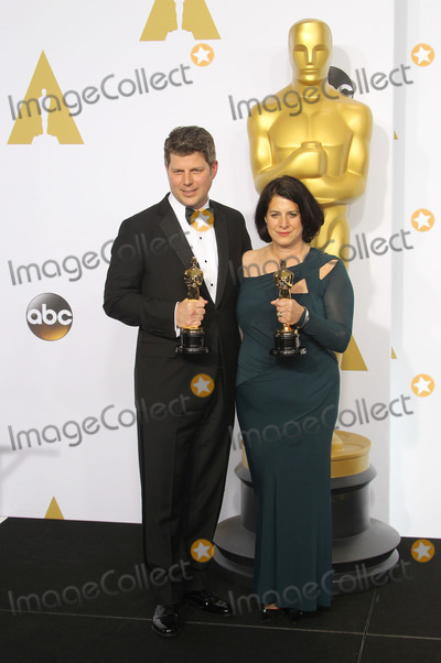 Adam Stockhausen Photo - 22 February 2015 - Hollywood California - Adam Stockhausen Anna Pinnock 87th Annual Academy Awards presented by the Academy of Motion Picture Arts and Sciences held at the Dolby Theatre Photo Credit F SadouAdMedia