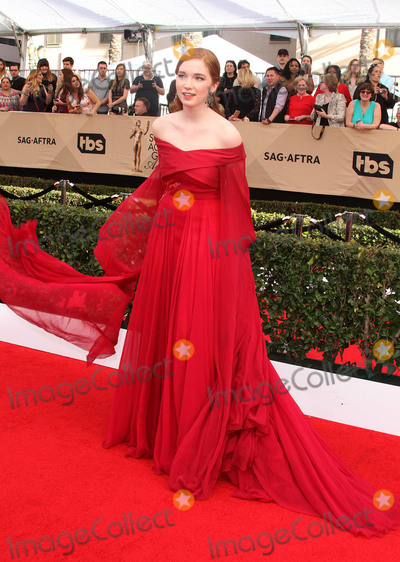 Annalise Basso Photo - 29 January 2017 - Los Angeles California - Annalise Basso 23rd Annual Screen Actors Guild Awards held at The Shrine Expo Hall Photo Credit AdMedia