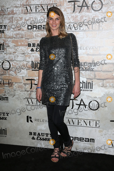 Angela Lindvall Photo - 16 March 2017 - Los Angeles California - Angela Lindvall TAO Beauty And Essex Avenue And Luchini LA Grand Opening Photo Credit AdMedia