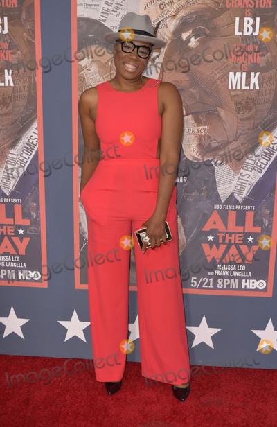 Aisha Hinds Photo - 10 May 2016 - Hollywood California - Aisha Hinds All The Way Los Angeles Premiere held at Paramount Studios Photo Credit Koi SojerAdMedia