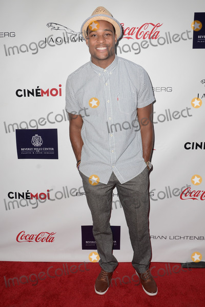 Aundre Dean Photo - 29 August 2015 - Beverly Hills California - Aundre Dean Arrivals for the Children Uniting Nations and National Coalition Against Domestic Violence Benefit held at a Private Residence Photo Credit Birdie ThompsonAdMedia