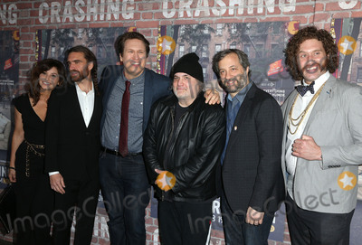 Artie Lange Photo - 15 February 2017 - Hollywood California - Gina Gershon George Basil Pete Holmes Artie Lange Judd Apatow TJ Miller Los Angeles premiere of HBOs Crashing held at Avalon Hollywood Photo Credit AdMedia