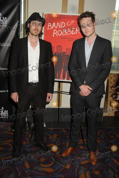 Aaron Nee Photo - 13 June 2015 - Los Angeles California - Aaron Nee Adam Nee LA Film Festival 2015 Premiere of Band Of Robbers held at Regal Cinemas LA Live Photo Credit Byron PurvisAdMedia