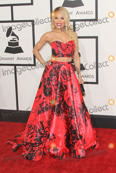 Antonique Smith Photo - 08 February 2015 - Los Angeles California - Antonique Smith 57th Annual GRAMMY Awards held at the Staples Center Photo Credit AdMedia