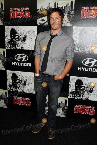 Norman Reedus Photo - 13 July 2012 - San Diego California - Norman Reedus The Walking Dead 100th Issue Party held at Petco Park Photo Credit Byron PurvisAdMedia