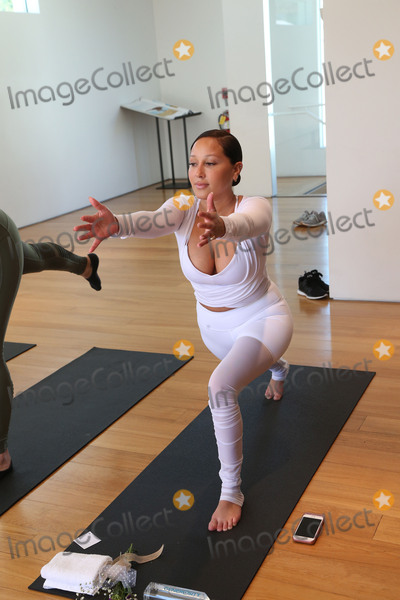 Adrienne Bailon Photo - 31 March 2017 - Beverly Hills California - Adrienne Bailon Draya Michele and Friends at AloYoga Photo Credit AdMedia