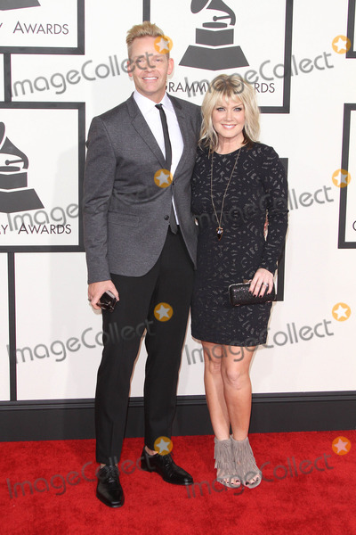 Natalie Grant Photo - 08 February 2015 - Los Angeles California - Natalie Grant Bernie Herms 57th Annual GRAMMY Awards held at the Staples Center Photo Credit AdMedia