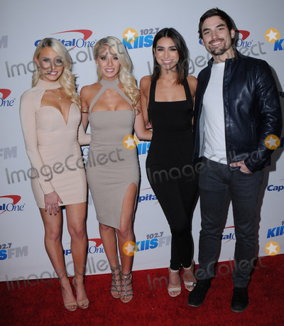 Ashley Iaconetti Photo - 02 December 2016 - Los Angeles California - Emily Ferguson Haley Ferguson Ashley Iaconetti Jared Haibon 1027 KIIS FMs Jingle Ball 2016 held at Staples Center Photo Credit Birdie ThompsonAdMedia