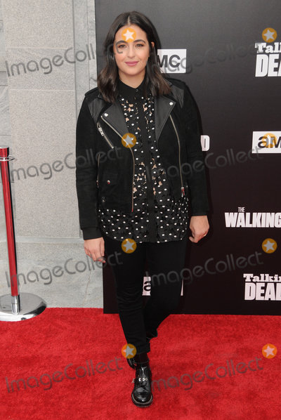 Alanna Masterson Photo - 23 October 2016 - Hollywood California Alanna Masterson AMC Presents Live 90-Minute Special Edition Of Talking Dead held at Hollywood Forever Cemetery  Photo Credit Birdie ThompsonAdMedia