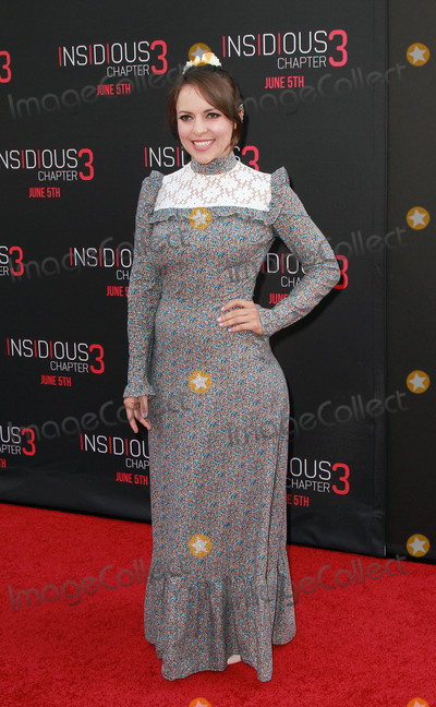 Olga Kay Photo - 04 June 2015 - Hollywood California - Olga Kay arrives at the Insidious Chapter 3 World Premiere at the TCL Chinese Theatre in Hollywood California Photo Credit Theresa BoucheAdMedia